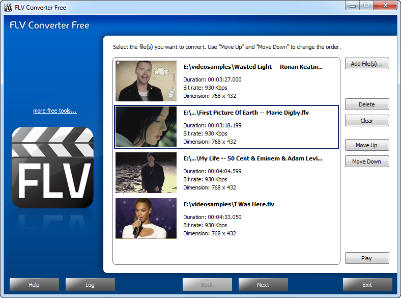 free flv to avi video converter download